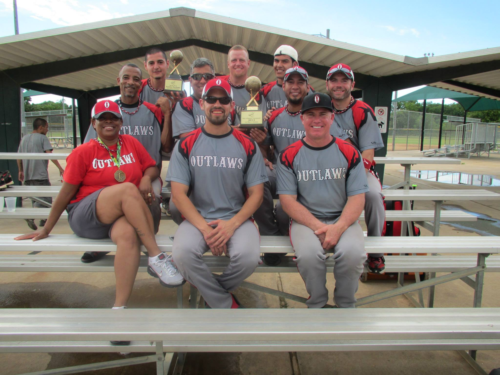 Outlaws accept 3rd Place Finish in 2013 Beat the Heat Classic in