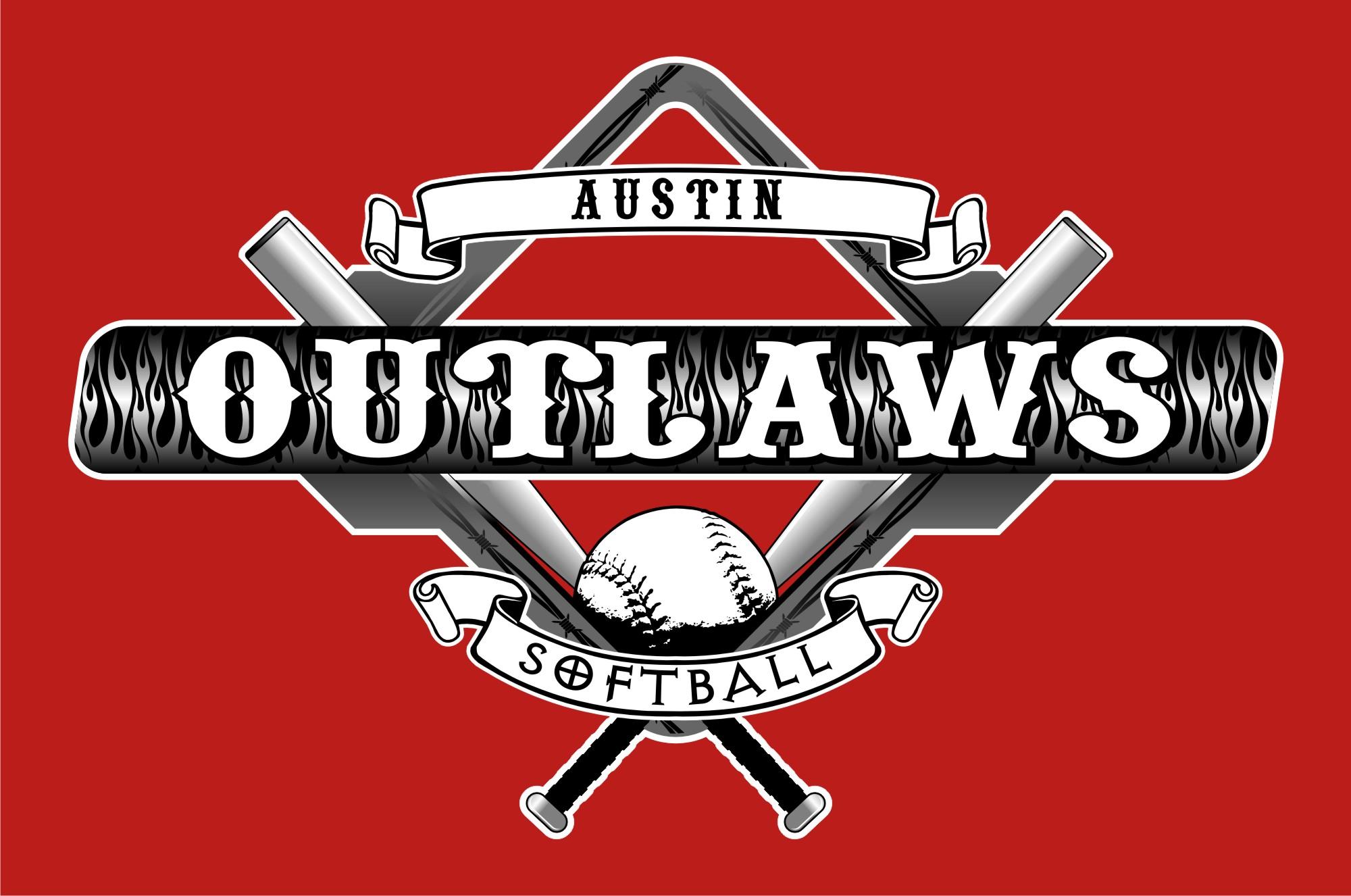 outlaw 2011 logo austin outlaws softball